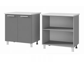 Шкаф-стол 2-дверный 8Р1 ЛДСП ШхВхГ 800х820х600 мм
