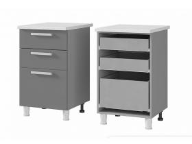 Шкаф-стол с 3 ящиками 5Р3 ЛДСП ШхВхГ 500х820х600 мм