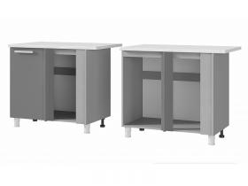 Шкаф-стол угловой 10УР2 ЛДСП ШхВхГ 1000х820х600 мм