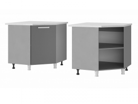 Шкаф-стол угловой 9УР1 МДФ ШхВхГ 900х820х900 мм