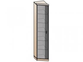 Шкаф торцевой 1 дверный Шер ШК-2322 дуб серый