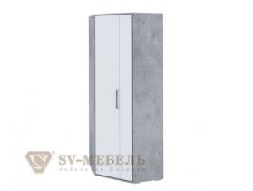 Шкаф угловой Грей ШхВхГ 850х2220х850 мм
