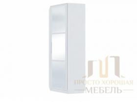 Шкаф угловой Николь-1 с зеркалами ШхВхГ 786х2100х786 мм