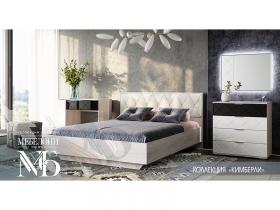 Спальня Кимберли ясень белый-белый глянец