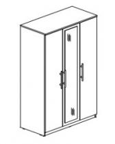 Спальня Оливия Столлайн Шкаф 3-х дверный с зеркалом СТЛ.109.03 1200х455х2240