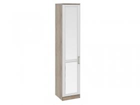 Спальня Прованс Шкаф для белья с 1-ой зеркальной дверью левый СМ-223.07.002L 2178х450х580