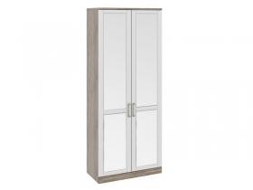 Спальня Прованс Шкаф для одежды с 2-мя зеркальными дверями СМ-223.07.024 2178х900х440 мм