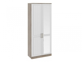 Спальня Прованс Шкаф для одежды с глухой и зеркальной дверями правый СМ-223.07.005R 2178х900х580 мм