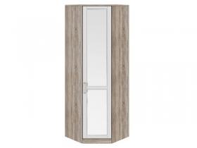 Спальня Прованс Шкаф угловой с 1-ой зеркальной дверью правый СМ-223.07.027R 2178х753х753 мм
