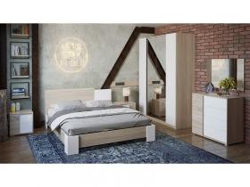 Спальный гарнитур Валери Дуб сонома-Белый ясень