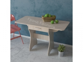 Стол обеденный раскладной с ящиком 6-02.120