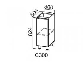 Стол-рабочий С300 Вектор СВ 300х824х506