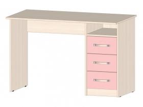 Стол с ящиками Буратино Розовый