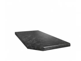 Столешница Кастилло тёмный торцевая левая 300х600х26 СТЛ к кухням Столлайн