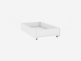 Ящик для кровати Абрис белый глянец ПМ-332.01.02
