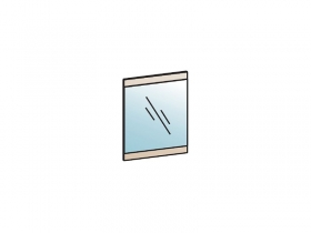 Зеркало Лотос З-801 Бодега белая