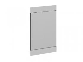Зеркало навесное Фьюжн Венге Линум-Белый глянец ШхВхГ 540х900х20 мм